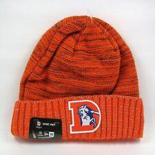 New Uomo Era NFL Denver Broncos squadra Colori Arancione Inverno Lavorato a  Maglia Cappello Beanie 6204bfb30bde