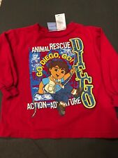 dora the explorer Diego Shirt 3T