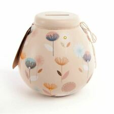 Dandelion Flowers Pots of Dreams Money Pot Gifts Save up & Smash Special Gift