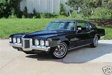 1969 Pontiac Grand Prix, Black, Refrigerator Magnet, 40 MIL