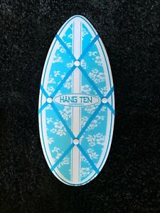 Hang Ten Surfboards memo photo message bulletin board EUC