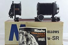 VINTAGE MINOLTA CAMERA BELLOWS II WITH SLIDE COPIER AND INSTRUCTIONS (MINT)