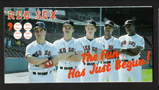 Boston Red Sox--Ellis Burks--Mike Greenwell--1988 Schedule--Guaranty-First Bank