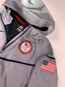 Nike 2012 USA Olympic Team 3M Large Flash Reflective Podium Metal Stand Jacket