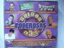Gilberto Santa Rosa Jerry Rivera Salsas Poderosas 3 CD New Sealed            J54