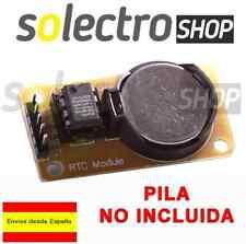 Modulo RTC DS1302 Reloj Tiempo Real AVR ARM PIC  Arduino M0014