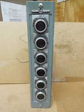 Allen Bradley FORWARD REVERSE OUT IN DOWN UP Pushbutton Station 800H-6HZ Ser L