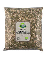 Organic Sunflower & Pumpkin Seeds Mix 1kg Certified Organic