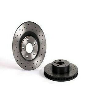 Front Drilled Rotor Brembo 09.5674.2X