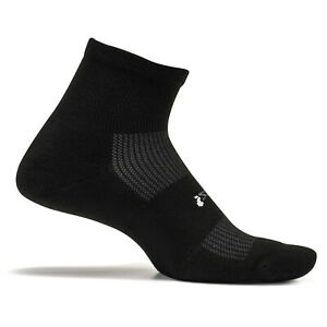 Feetures - High Performance Cushion - Quarter - Athletic Running Socks