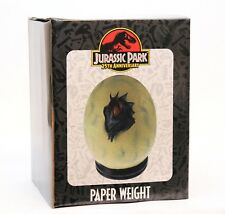Jurassic Park SDCC 2018 25th Anniversary Raptor Egg Paperweight - New in Box