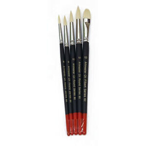 Artmaster Artista Olio Pennello Set Di 5 Formati Assortiti