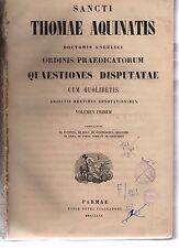 sancti thomae aquinatis- opera omnia - tomus VIII - 1865 copmarmorz-armspogl