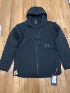 Burton Snowboards AK FZ Insulator Jacket True Black Mens Sz L NWT $249.95