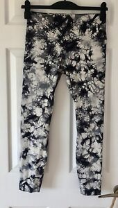 Lululemon Wunder Under Hi-Rise 7/8 Tight Shibori Tie Dye Leggings UK12 US8