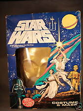1977 Vintage Ben Cooper C-3PO Costume with Box medium