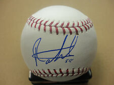 Baseball-mlb Signed Texas Rangers Top Prospect Roman Mendez Sweetspot Baseball Coa!! Sports Mem, Cards & Fan Shop Cheap Sales