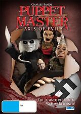 Puppet Master - Axis Of Evil (DVD, 2011)-FREE POSTAGE