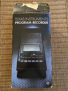 TEXAS INSTRUMENTS TI99 Program Recorder PHP2700 In Box Condition!