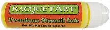 Racquet Art Premium Stencil Ink - Water Based - Yellow
