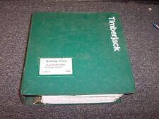 Timberjack 560 660 Grapple Skidder Shop Service Repair Manual Book F298905