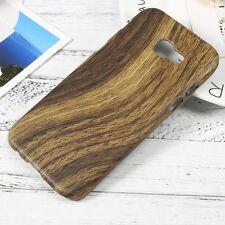Schutzhülle für Samsung Galaxy A3 (2017) Holz Natur Hard Dünn Case Cover Handy