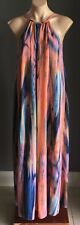 Gorgeous COOPER ST Multi Colour Ombre Print Sleeveless Maxi Dress Size 8