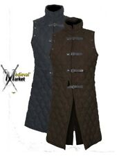 Thick Padded Medieval Gambeson costumes suit of armor for theater larp / sca