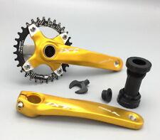 Mtb Bike Crankset arm 170mm Bb Wide Narrow Oval single Bicycle Chainring 32-42T