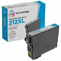 LD Remanufactured Epson 212XL T212XL220 High Yield Cyan Ink Cartridge