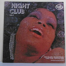 """33T NIGHT CLUB Vol 2 Vinyle LP 12"""" EASY TO LOVE The STEREO PERCUSSION MFP 95380"""