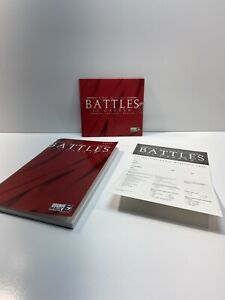 The Great Battles of Caesar - Vintage Big Box PC Game With Manual No Box. New