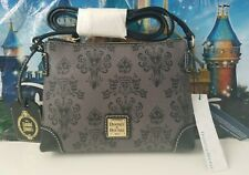 NWT Disney Dooney And Bourke Haunted Mansion Wallpaper Pouchette