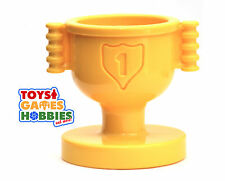 *NEW* LEGO DUPLO Trophy Cup Piece - Race Car Prize Horse Show Cars Planes Track