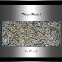 abstract painting - Jackson Pollock Style, Contemporary modern wall art