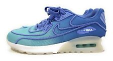Nike Air Max 90 Ultra 2.0 BR Womens Running Shoes Polarized Blue White Size 8.5