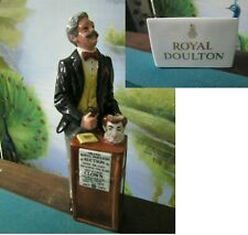 The Auctioneer Royal Doulton Hn 2988 Auctioning The Red Hair Clown Jug & Sign