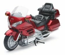 NewRay Honda Gold Wing Goldwing GL1800 GL 1800 Modelo 2010 Rojo Borgoña RED 1:12