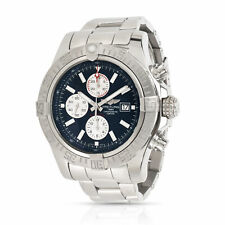 Breitling Super Avenger II A13371 Men's Watch in  Stainless Steel
