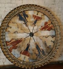 "Monumental 48"" Diameter Antique Carnival Game Wheel"