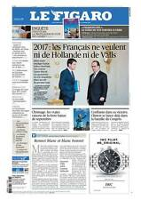 Le Figaro 26.10.2016 N°22460*Les Français ne veulent ni HOLLANDE ni VALLS en 17