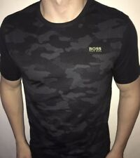 Hugo Boss T-shirt Top size 3XL XXXL Men's BNWT Black Camo NEW *modern fit*
