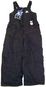 ZeroXposur Girls Winter Bib Snow Pants NWT Black  Size 4   R $50.