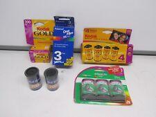 Lot of 13 Rolls of 35mm Film 200 Kodak, FujiFilm, Polaroid  +