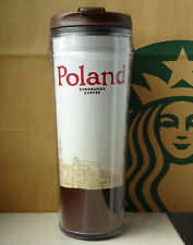Starbucks City Tumbler Global Icon Series Poland 12oz NEW