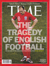 TIME MAGAZINE JUN 11, 2012 ISSUE THE TRAGEDY OF ENGLISH FOOTBOOK -WAYNE ROONEY