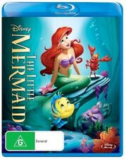 THE LITTLE MERMAID : NEW Disney R-B Blu-Ray