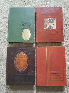 University of Texas Cactus yearbooks 1976, 1977, 1978, 1979