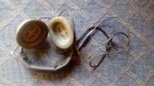 casque audio vintage