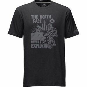 "The North Face ""Hide N Seek"" Never Stop Exploring Short Sleeve T Shirt Men's"